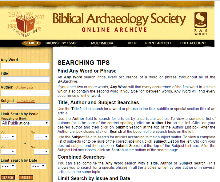 Biblical_Archaeology_Society_Online_Archive_
