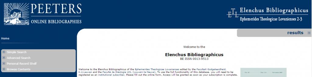 Elenchus_Bibliographicus