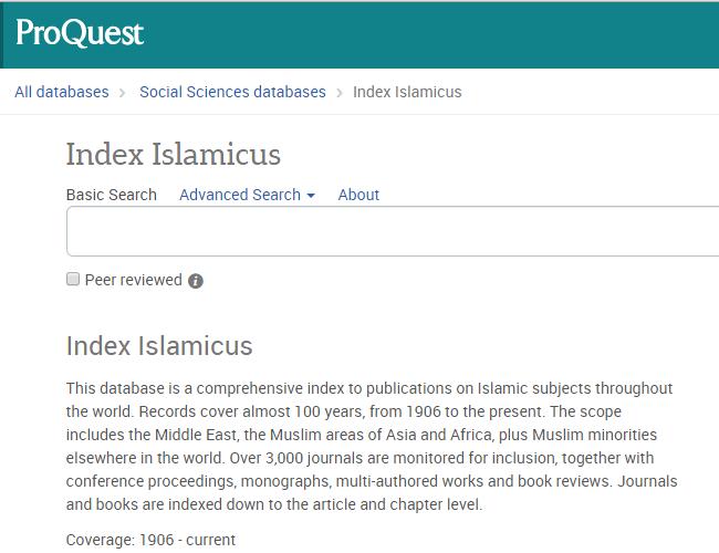 Index_Islamicus