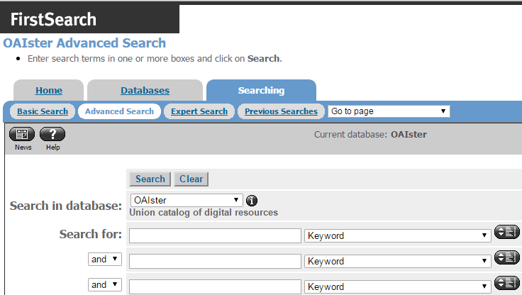 Dissertation database search
