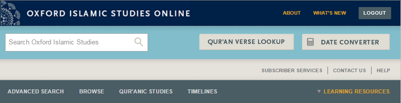 Oxford_Islamic_Studies