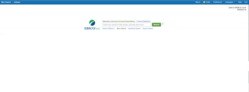 EBSCO Open Access