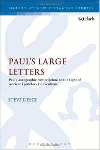3paul's large letters