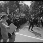 [Martin Luther King with leaders at the March on Washington, 1963], Leffler, Warren K., photographer, [1963 Aug. 28]