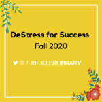 DeStress for Success Fall 2020 image