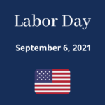 Library Closure on Labor Day 2021